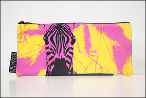 Long Pencil Bag CRE01 Zebra