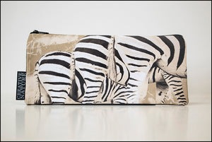 Long Pencil Bag KHA01 Zebra Bums