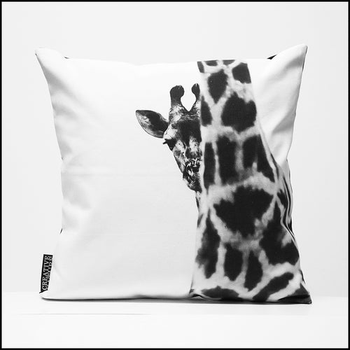 Cushion Cover SC BW 08 Giraffe