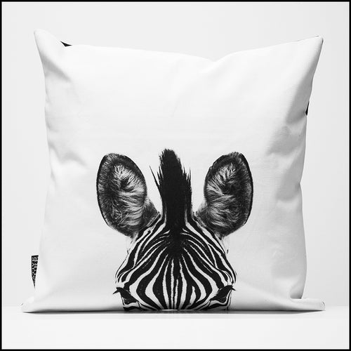 Cushion Cover SC BW 10 Zebra