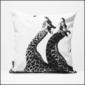 Cushion Cover SC BW 11 Giraffe