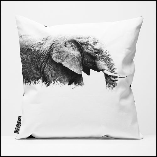 Cushion Cover SC BW 21 Elephant