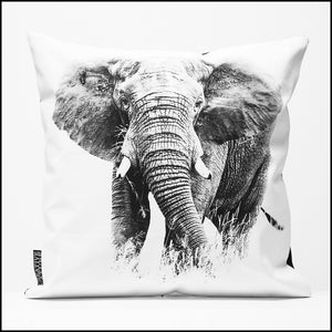 Cushion Cover SC BW 23 Elephant