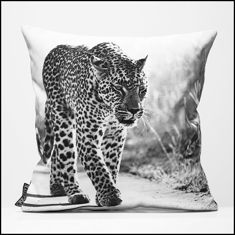 Cushion Cover SC BW 28 Leopard