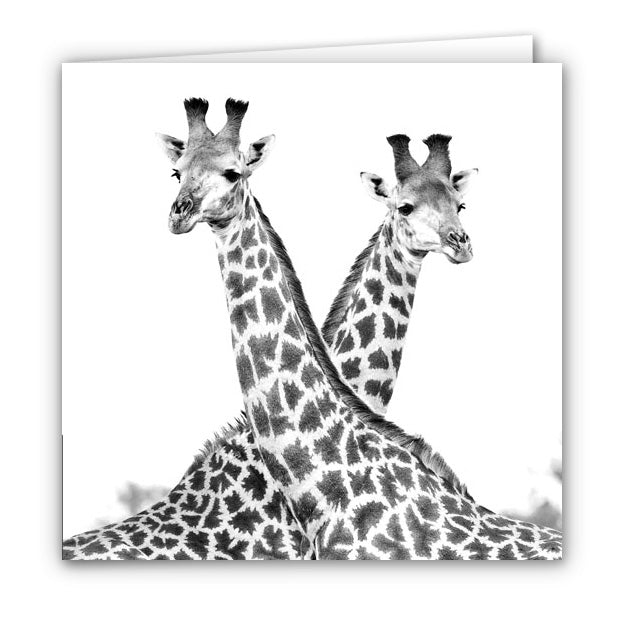 Small Greeting Card SGC153 Giraffe