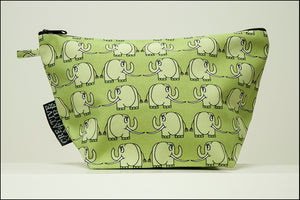 Triangle Toiletry Bag | Curious | Green Elephant