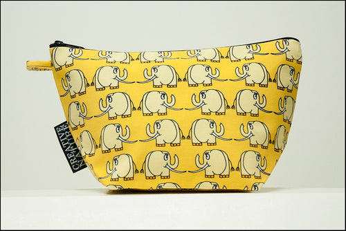 Triangle Toiletry Bag | Curious | Yellow Elephant