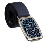 hipsi Belt Set (Navy Strap with November Blue Buckle)