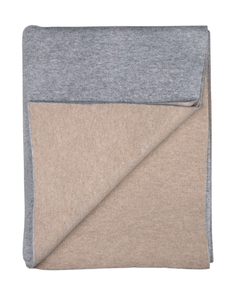 Sofia Cashmere Reversible Throw - Paris