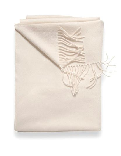 Sofia Cashmere Throw - Brescia (Ivory)