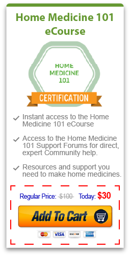 Purchase only the Home Medicine 101 eCourse