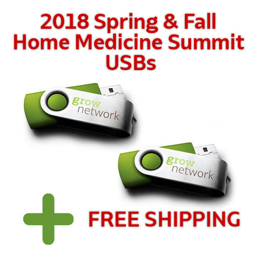 2018 Spring & Fall Home Medicine Summit USBs