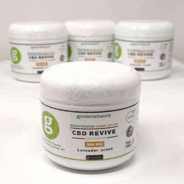 CBD Oil Revive Lotion - 300mg