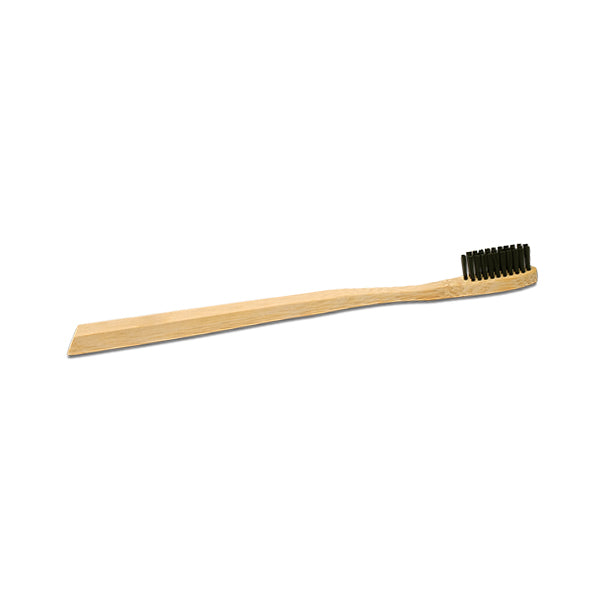 Bamboo Toothbrush with Charcoal-Infused Bristles