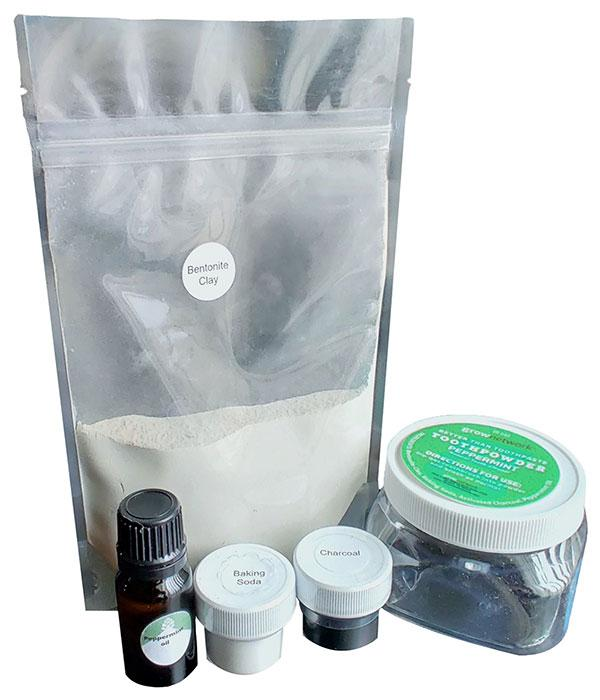 DIY Toothpowder Kit