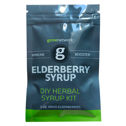 Elderberry Cough Syrup Kit