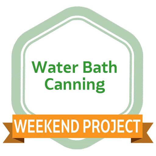 Weekend Project: Water Bath Canning