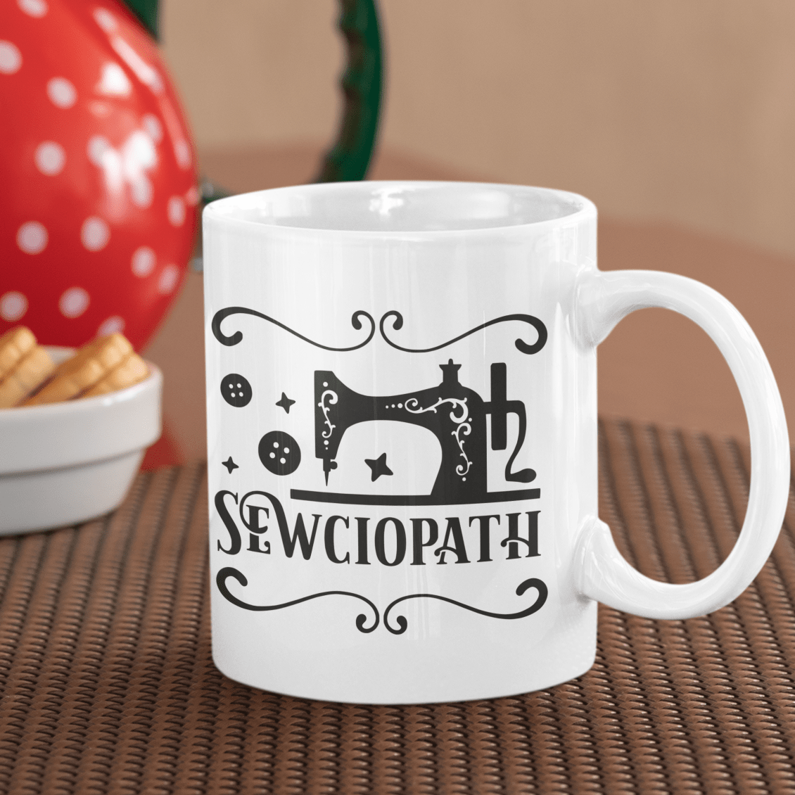 Sewciopath Ceramic Mug