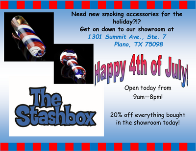 The Stashbox is OPEN REGULAR HOURS today!