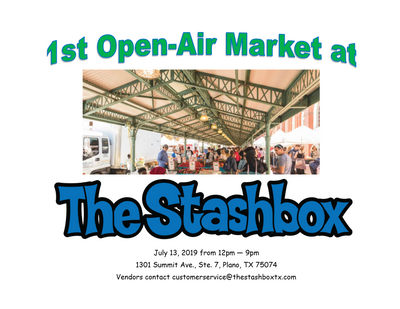 1st Open Market at The Stashbox Garage