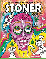 Stoner Coloring Book for Adults Volume 2