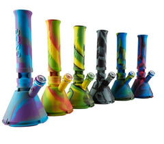 Silicone Eyce Water Pipe Beakers