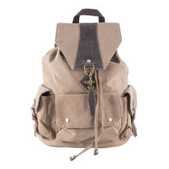 Be Lit Signature Backpack- Khaki