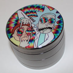"Rick and Morty ""Bad Trip"" Grinder 4-part"