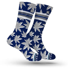 Large Dallas Cannabis Socks
