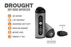 OOZE Drought Dry Herb Vaporizer