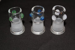14mm SMG Female Clear Concentrate Dome- Straight Style