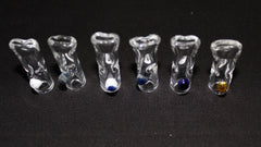 "1.5"" SMG Rolling Tip- Tapered Glass"