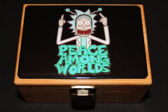 "Small Rick and Morty ""Peace Among Worlds"" Bamboo Stash Box Set"