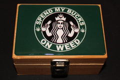 Small Starbucks Bamboo Stash Box Set