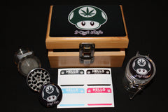 Small Mario Bamboo Stash Box Set