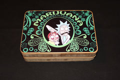 Rick and Morty Bamboo Rolling Tray