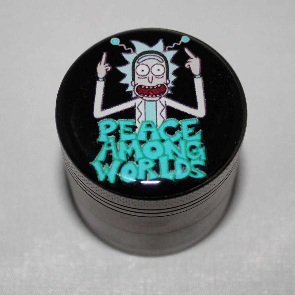 "Rick and Morty ""Peace Among Worlds"" Grinder 4-part"