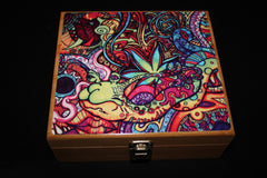 "Large ""Snail"" Bamboo Stash Box Set"