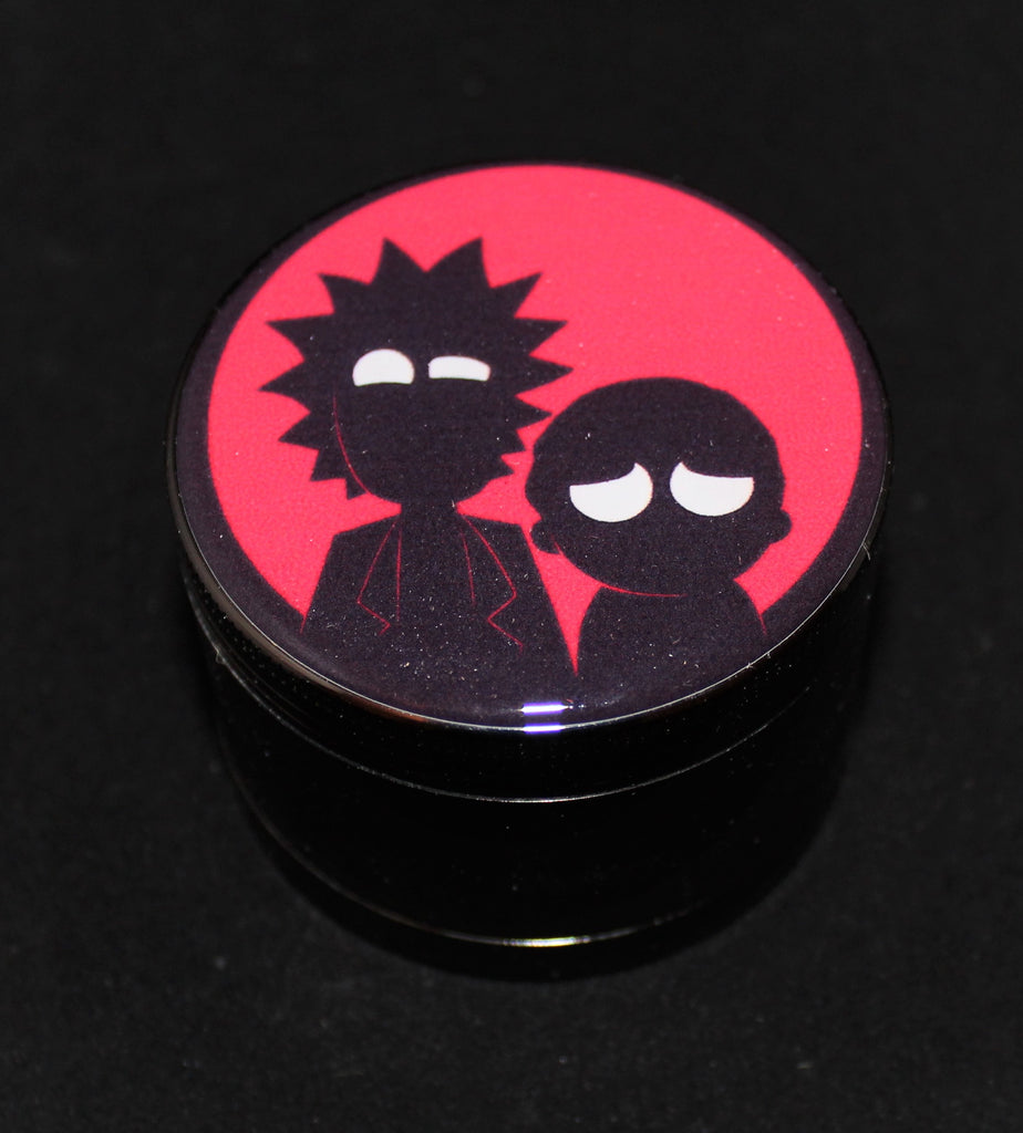 "Rick and Morty ""Red Portal Flash"" Grinder 4-part"