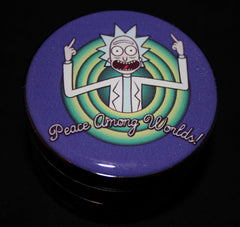 Rick and Morty Grinder 4-part