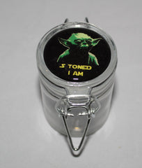 Apothecary Jar- Star Wars Yoda