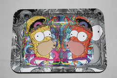 Medium Metal Rolling Tray- The Simpsons- Bart Simpson