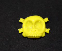 Antman Glass- Lime Green Skull Pendant