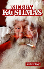 Kushmas Claus Hemp Card