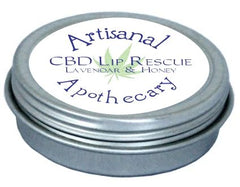 Lip Rescue CBD Lip Balm - Honey Lavender