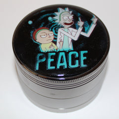 "Rick and Morty ""Peace"" Grinder 4-part"