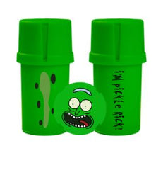 Medtainer Individual Grinder and Stash Jar- Rick and Morty
