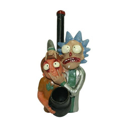 "4.5"" Rick and Morty ""Duo"" Clay Spoon Pipe"