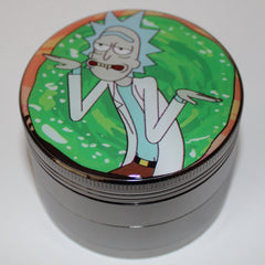 "Rick and Morty ""Schwifty"" Grinder 4-part"