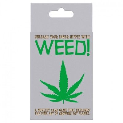 Weed! Unleash your inner Hippie with The Card Game